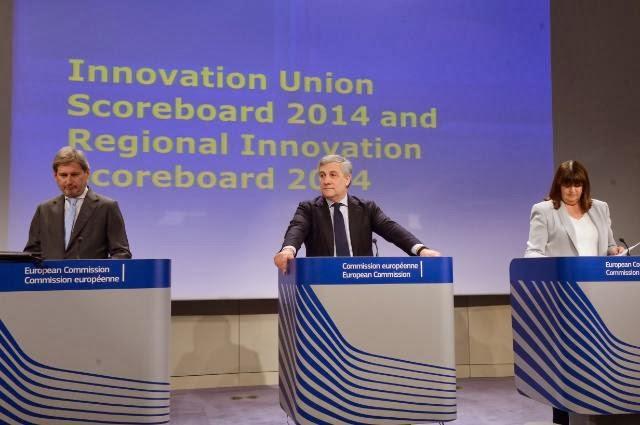 I commissari Tajani, Hahn e Georghian-Quinn
