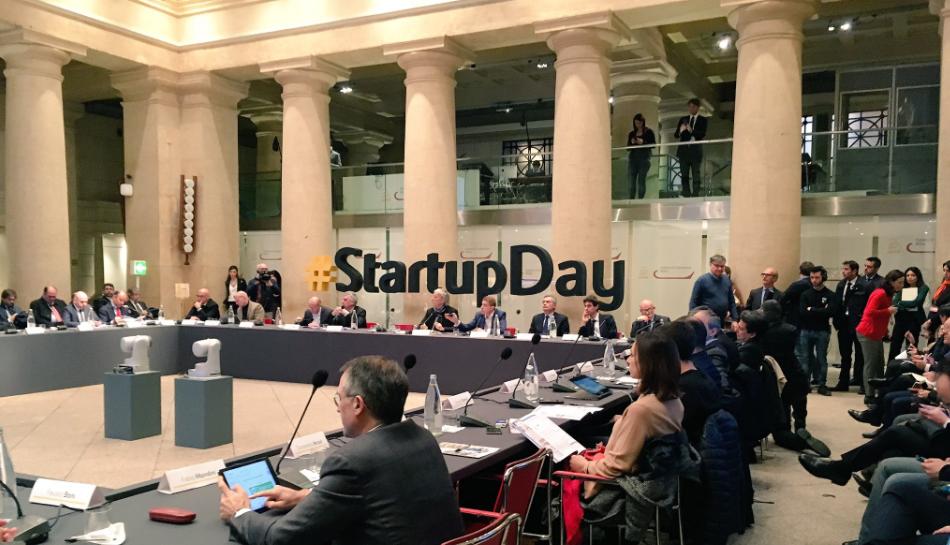 Startup Day - Photo credit: Anna Gaudenzi, Twitter