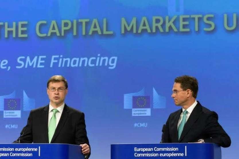 Dombrovskis e Katainen © European Union , 2018/ Photo: Georges Boulougouris