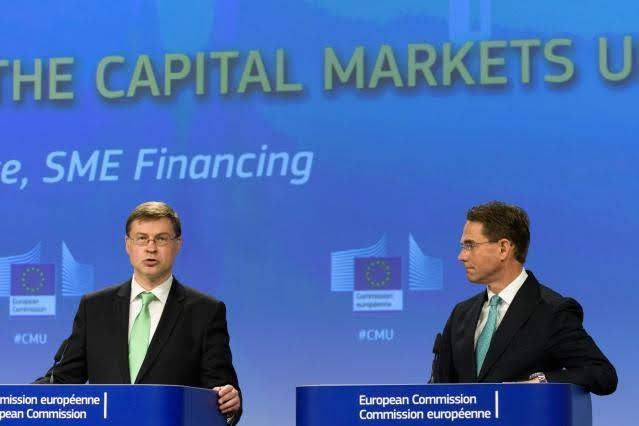 Dombrovskis e Katainen © European Union , 2018/ Photo: Georges Boulougouris
