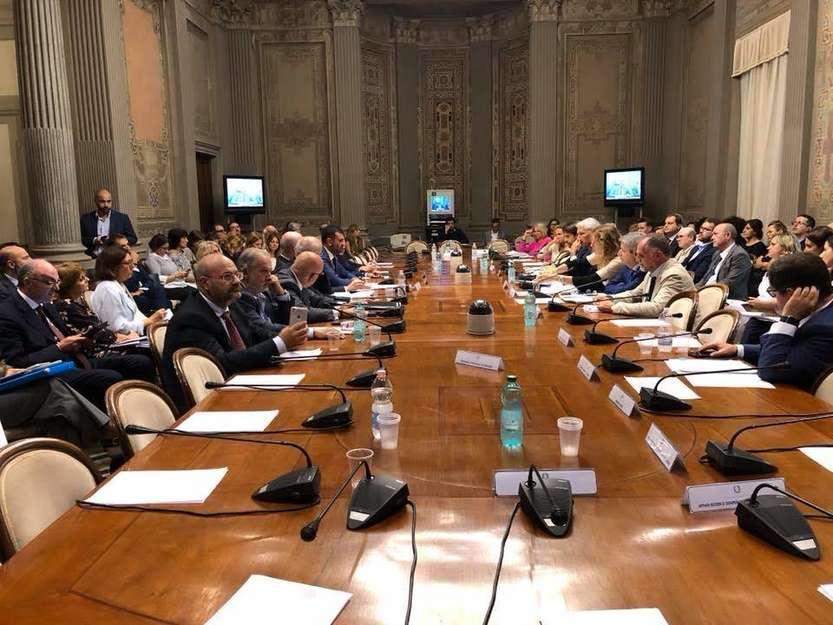 Conferenza Unificata 20 settembre 2018 - foto pagina Facebook Regioni.it