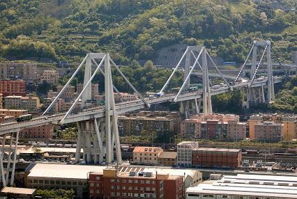 Ponte Morandi - Photo credit: Bbruno