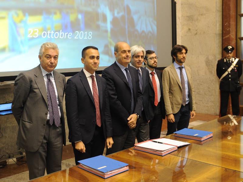 Accordi di Programma - photo credit: Ministero Sviluppo economico