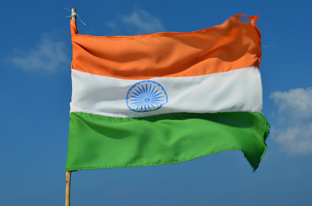 Flag of India - Photo credit Sanyam Bahga