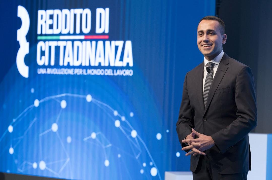 Roma, 04/02/2019 - Il Vice Presidente Luigi Di Maio presenta il sito ufficiale e la card del Reddito di Cittadinanza - photo credit Presidenza Consiglio dei Ministri