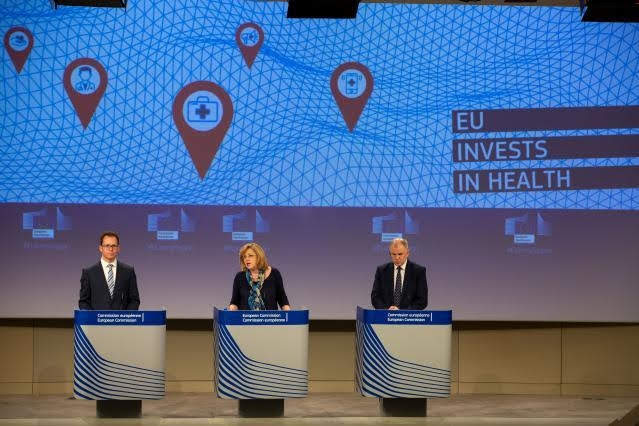 Cretu e - Andriukaitis © European Union, 2019/Photo: Lejeune Xavier