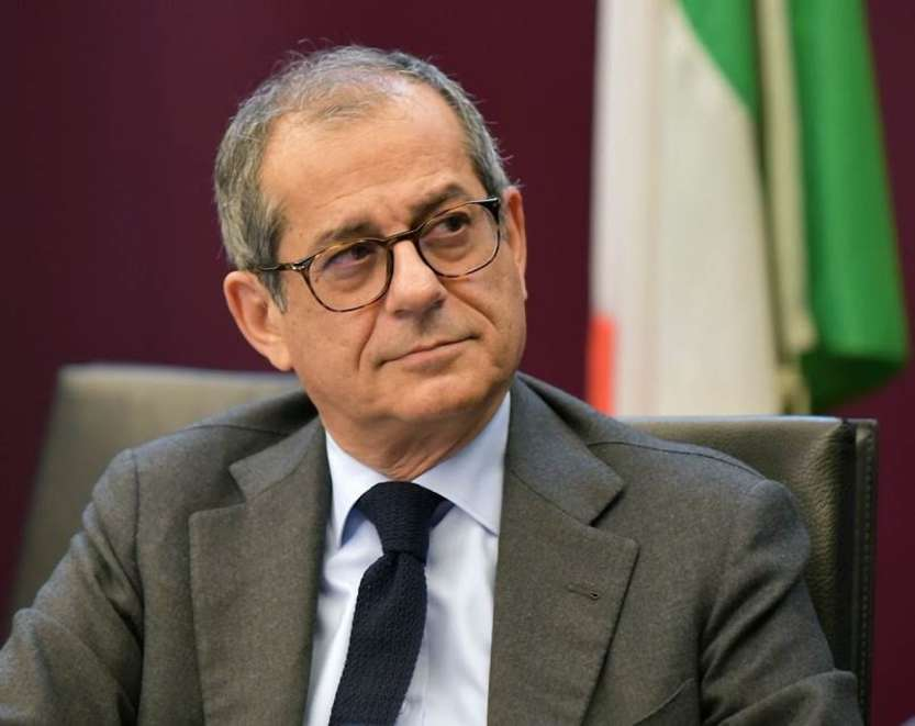 Giovanni Tria - photo credit: Ministero dell'Economia e delle Finanze