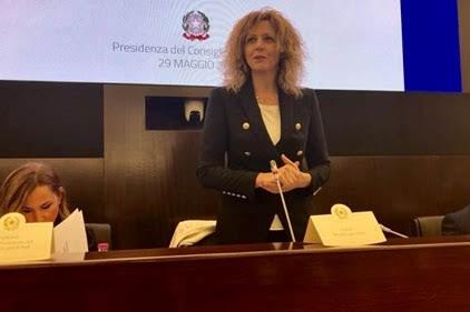 Barbara Lezzi - Photo credit: Ministero Sud - Presidenza Consiglio Ministri