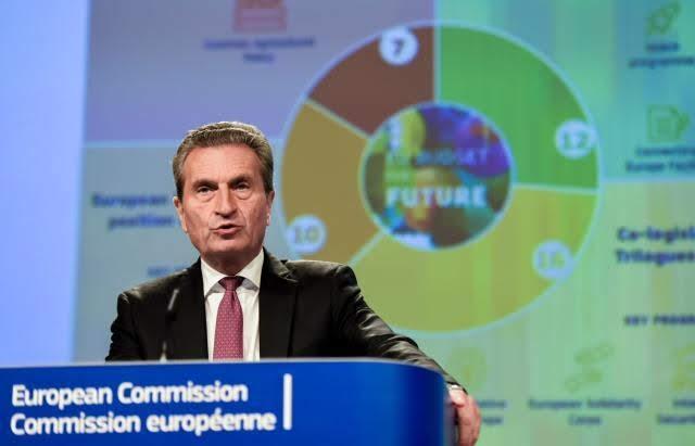 Oettinger - Photo credit: Jennifer Jacquemart - Source: EC - Audiovisual Service - European Union, 2019