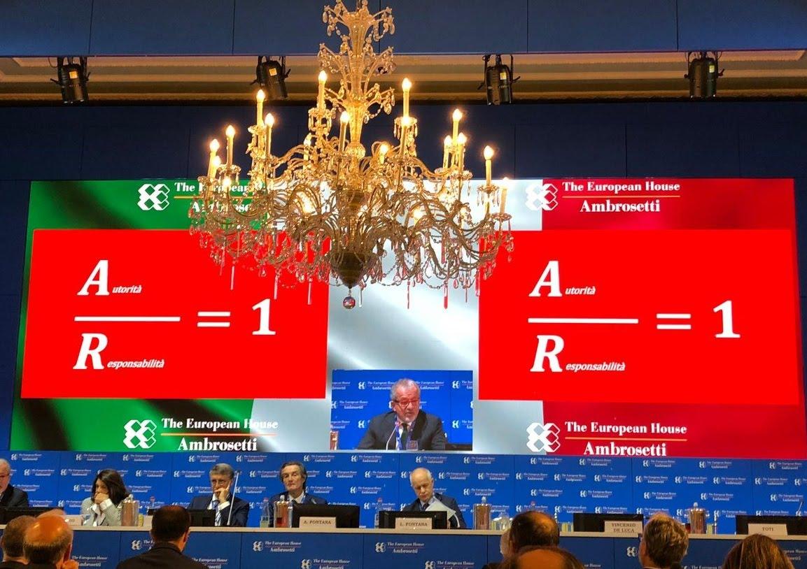 Photo credit: Forum The European House – Ambrosetti