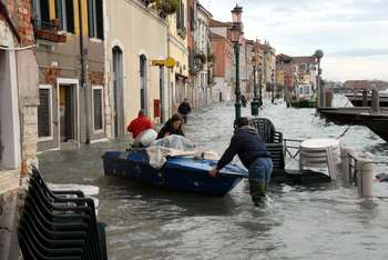 Emergenza Venezia: Photocredit: Catullo roberto - Wikipedia
