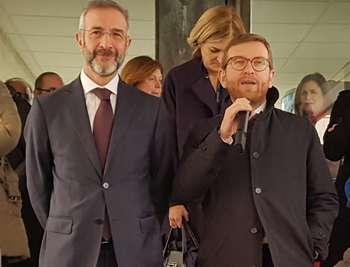 Giuseppre Provenzano e Massimo Sabatini all'ìAgenzia di Coesione: Photocredit: Agenzia per la Coesione Territoriale