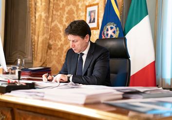 Giuseppe Conte - Foto di: Governo