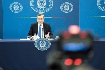 Draghi - foto di: Governo