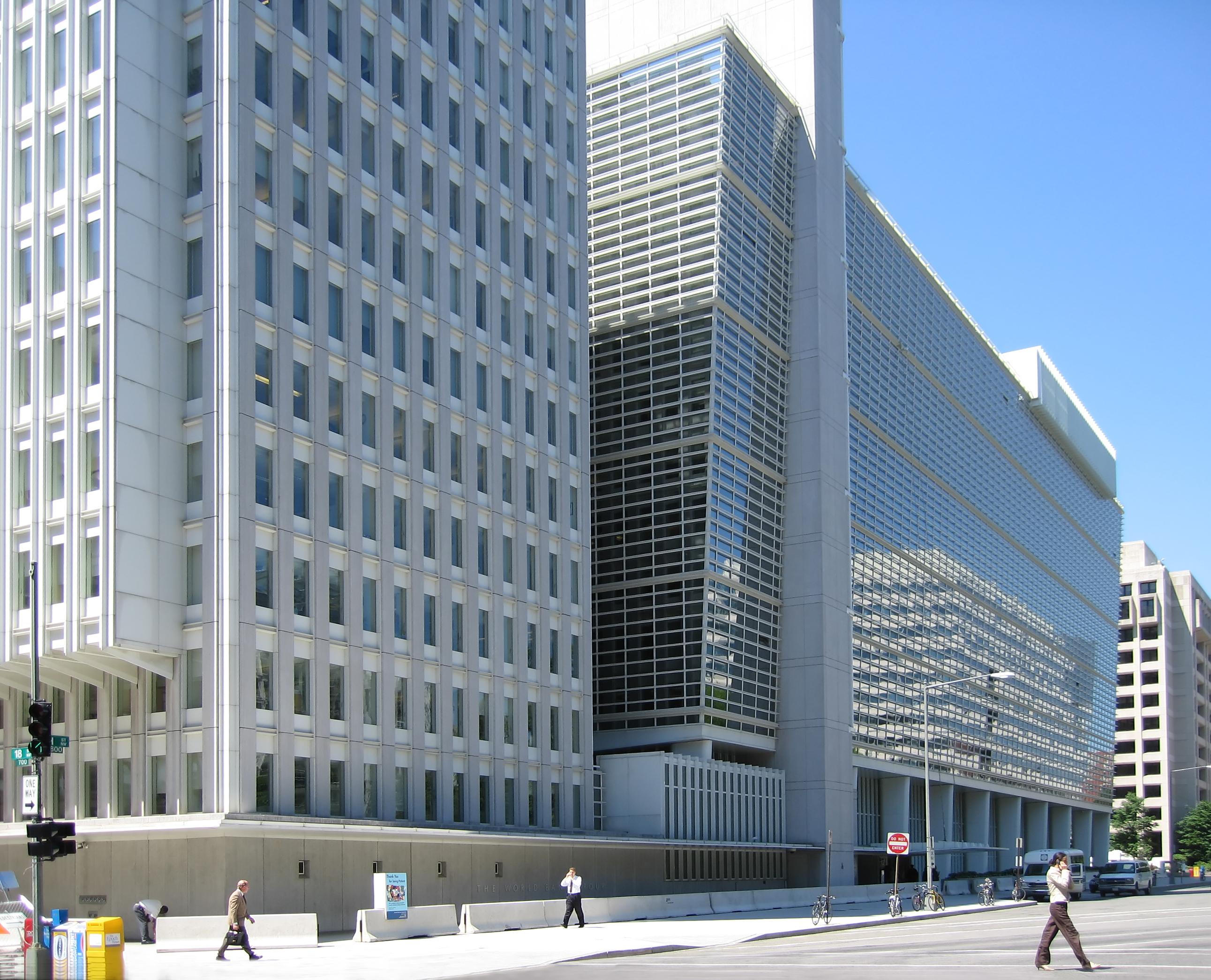World Bank - Photo credit: Shiny Things