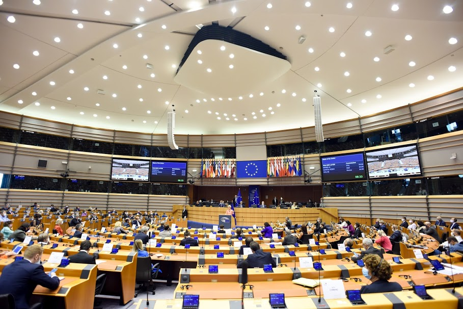 Recovery Fund: la posizione del Parlamento UE - European Union, 2020 - Source: EC - Audiovisual Service - Photographer: Etienne Ansotte