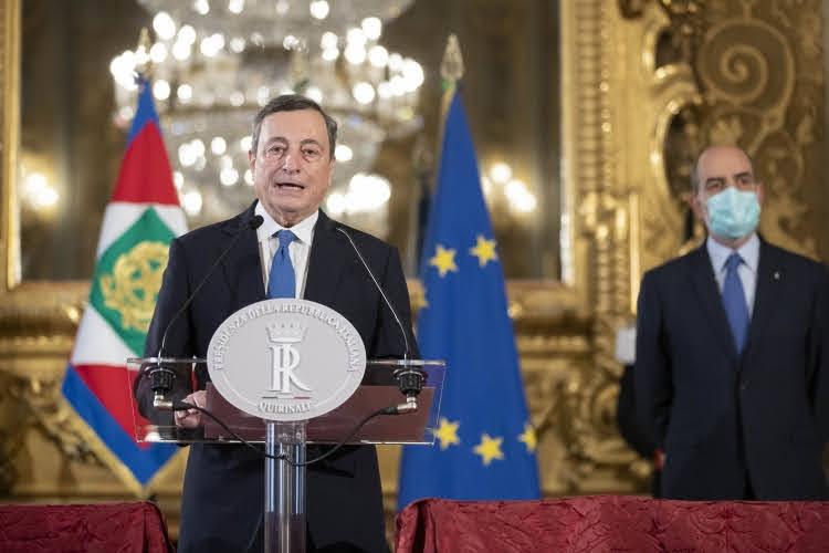 Mario Draghi - Photocredit: Quirinale