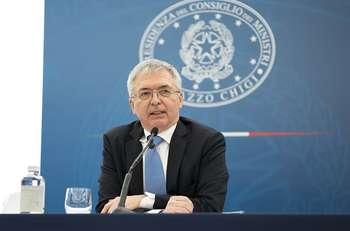 Ministro Economia Franco - Credit: Palazzo Chigi
