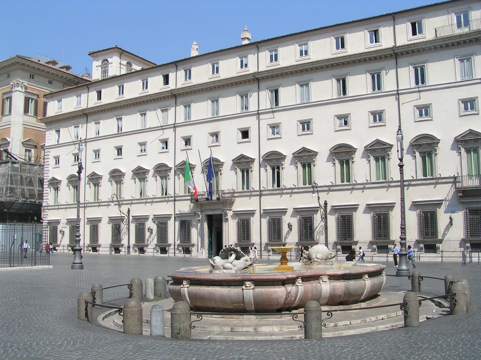 Palazzo Chigi - Photo credit: Simone Ramella
