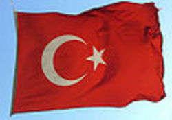 Bandiera turca - immagine di Stoneit