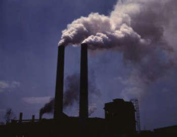Inquinamento - foto di Alfred Palmer